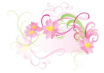 pink sakura curves