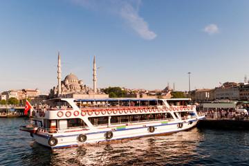 Hafen von Istanbul, Türkei
