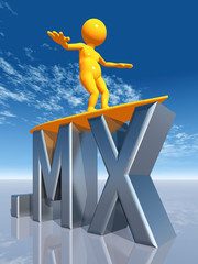 MX Top Level Domain of Mexiko