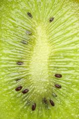 Fresh green kiwi