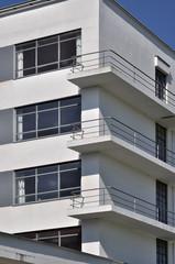 Foto op Aluminium Trappen dessau, bauhaus, balconi