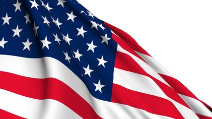 America flag render