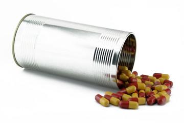 dose mit pillen