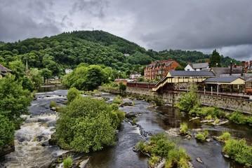 The river Dee, Llangollen