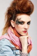 glam punk girl