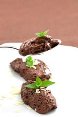 frisches mousse au chocolat