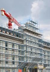 Palazzo in corso di ristrutturazione