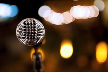 detalle de microfono