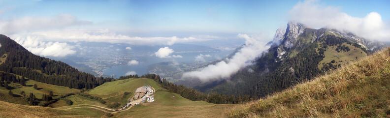 Montagne Tournette Paysage
