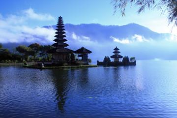 View at Batur Lake Bali Indonesia