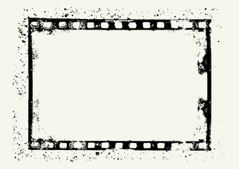 Film frame for your images - vector