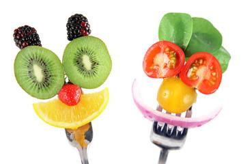 In de dag Keuken Faites manger des fruits et des légumes à vos enfants !