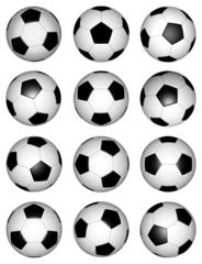 3D Fussball-Set 1