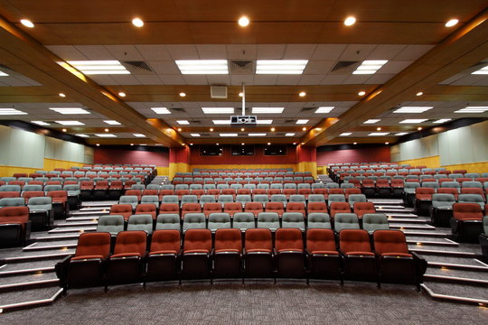 Lecture hall in a University