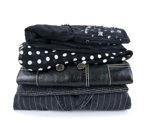 Fashionable black clothes