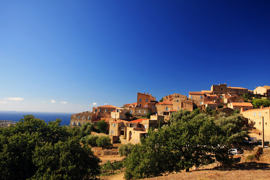 Pigna, paese degli artisti, Corsica