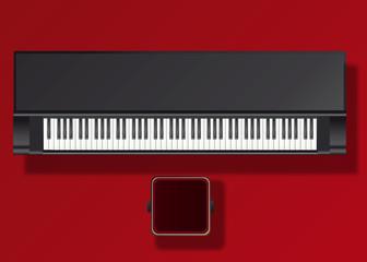 PIANO_Noir_Droit
