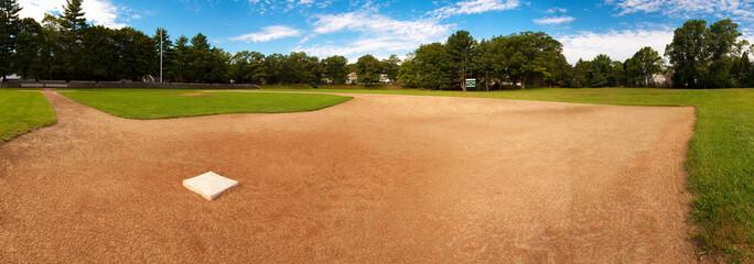 Baseball Field in North Easton, Massachusetts - USA