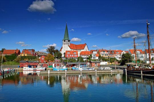 Harbour Roenne Bornholm Island denmark