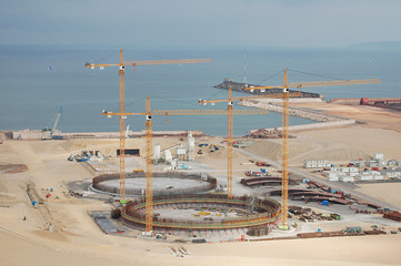 PORT IN CONSTRUCTION