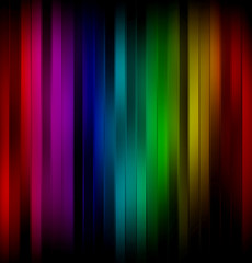 abstract rainbow striped glowing background.