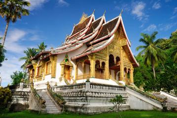 Temple in Luang Prabang Royal Palace Museum, Laos