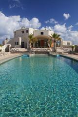 piscina sul terrazzo