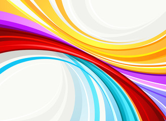 Colour abstract background. Vector