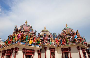 Foto op Plexiglas Singapore Sri Mariamman Temple in Singapore