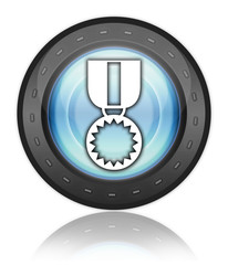 "Industrial Style Icon ""Award Medal"""