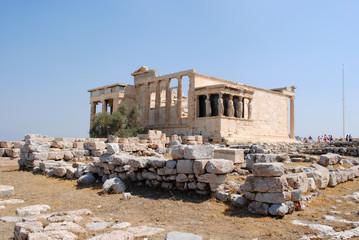 Side View Erechtheion with Karyatides