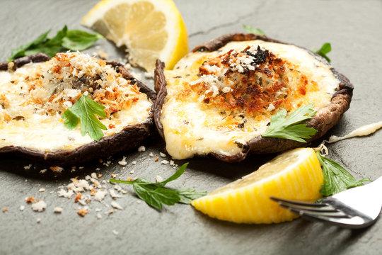 Cheese Stuffed Mushrooms