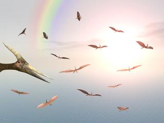Ozeansegler Pteranodon Ingens