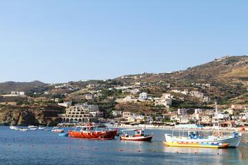 Fishing Boats on the island of Crete