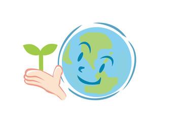 地球と芽.ai