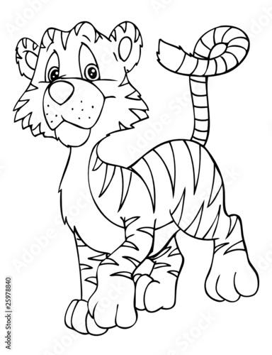 """""""tiger raubkatze indien asien tigerbaby"""" stockfotos"""