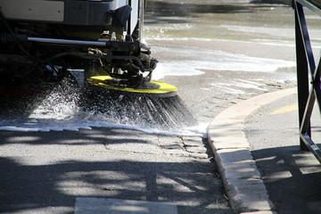 Nettoyage de rue