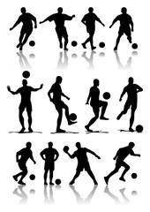 sagome giocatori di calcio