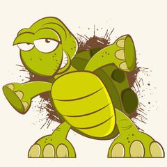 schildkröte cartoon vintage