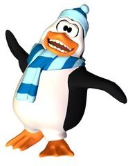 penguin cartoon more than easy