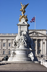 Victoria Memorial and Buckingham Palace