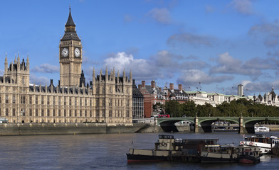 Big Ben and Wesminster Bridge