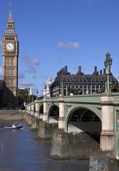Big Ben and Wesminster Bridge