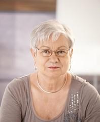 Portrait of senior teacher