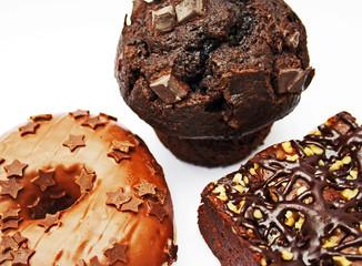 Muffin Donut Brownie 2