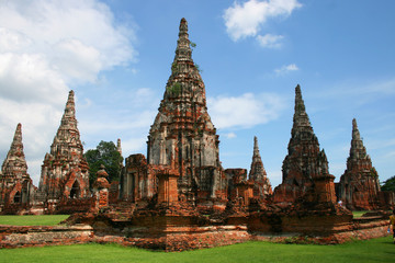 Ayutthaya ancient city, Thailand.
