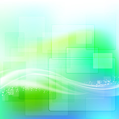 Abstract background light green. Vector illustration EPS 10