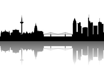 Frankfurt Silhouette