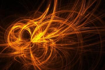 Fraktal orange
