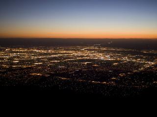 North American Cities - Albuquerque Sunset